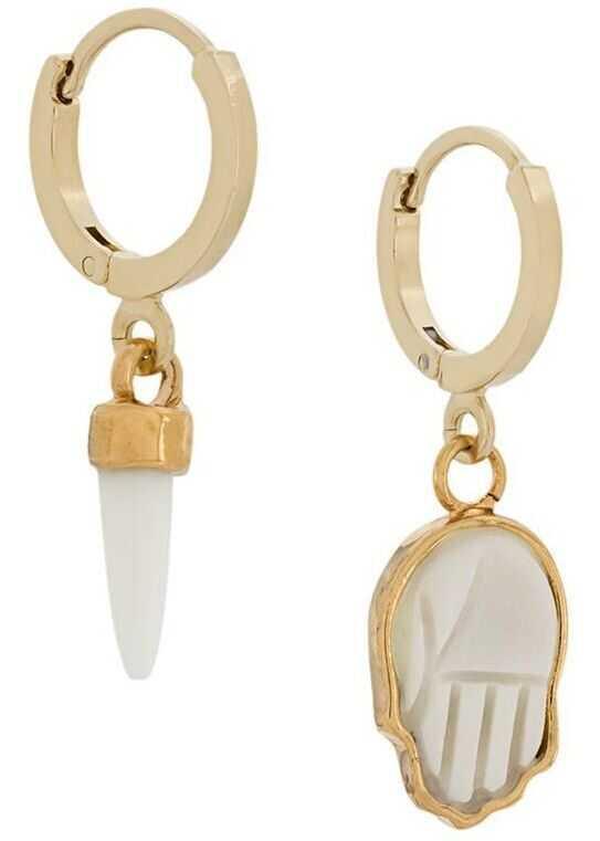 Isabel Marant Metal Earrings GOLD