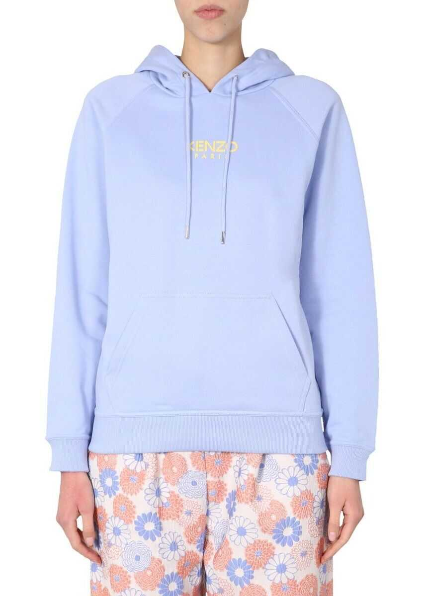 Kenzo Cotton Sweatshirt PURPLE
