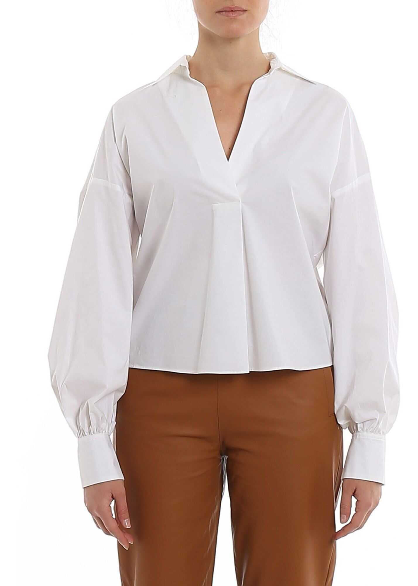 Pinko Vegetariana Blouse In White White