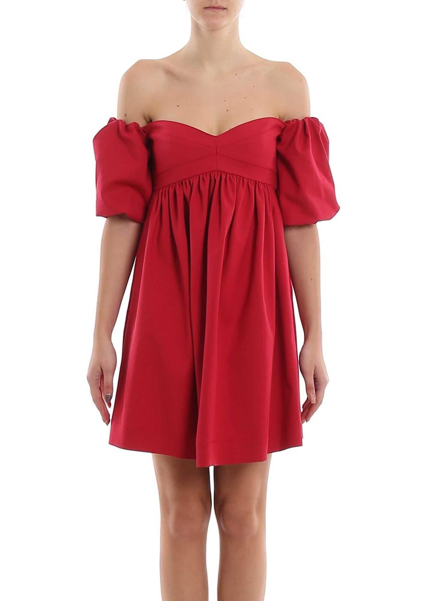 Pinko Pastiera Dress Red