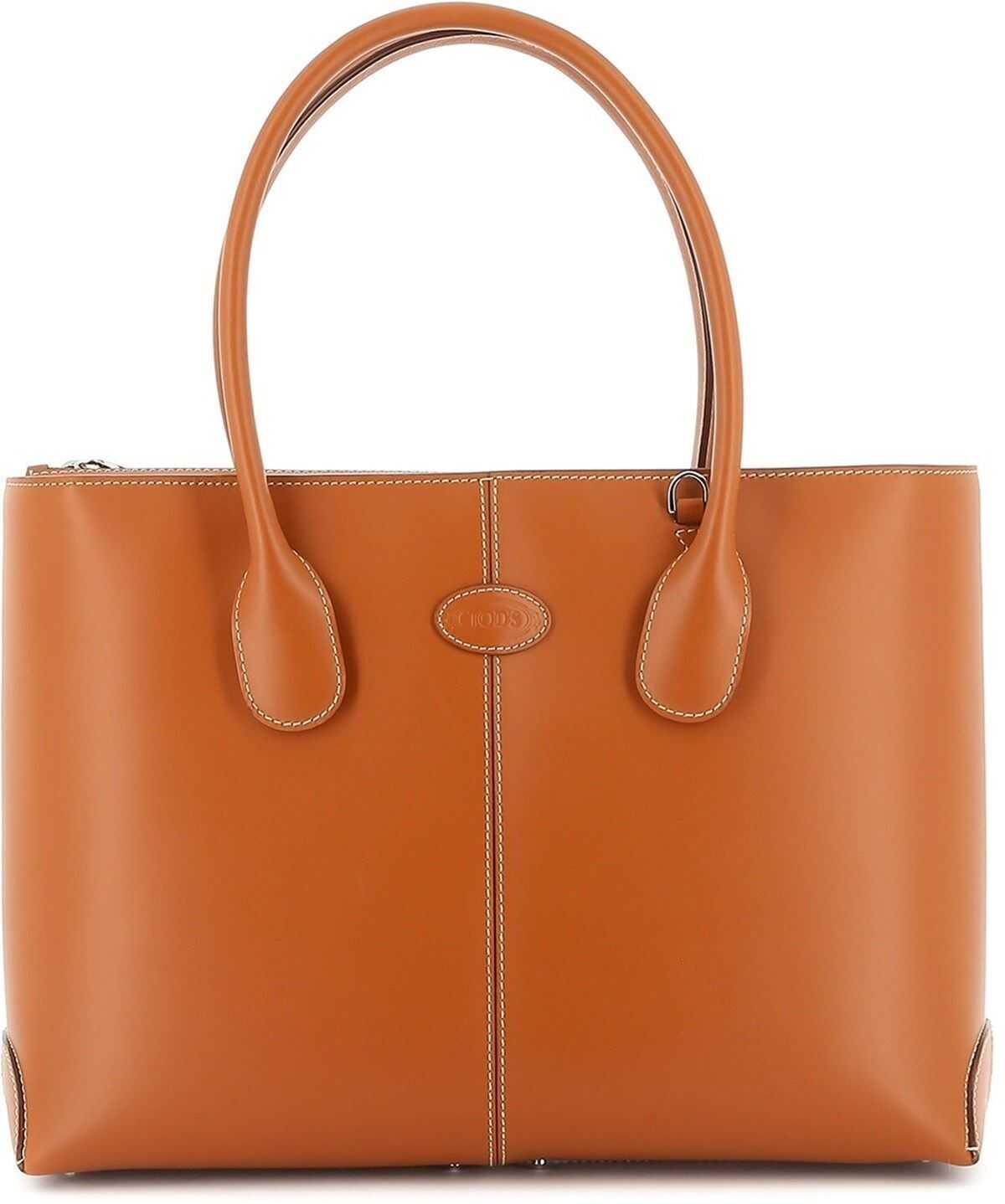 TOD'S D-Bag Medium Tote XBWDBAA0300RIIG807 Brown imagine b-mall.ro