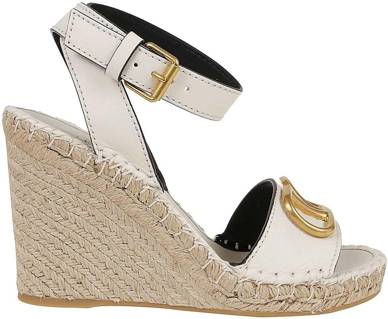 Vlogo Wedge Sandals