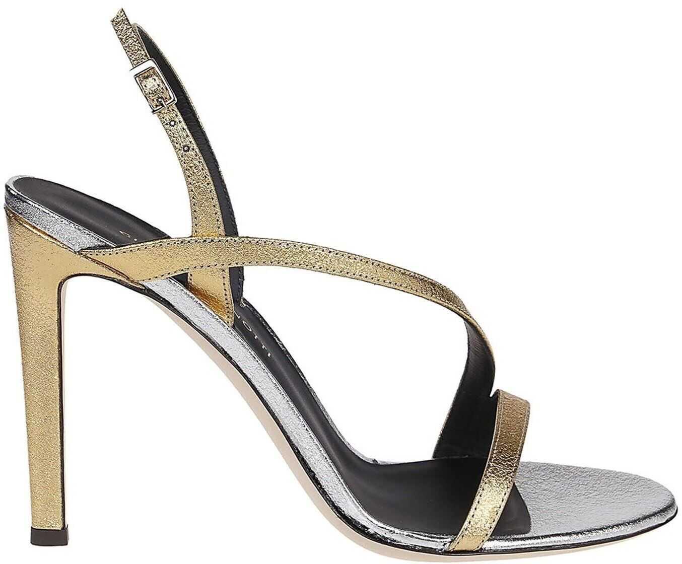 Giuseppe Zanotti Polina Sandals Gold