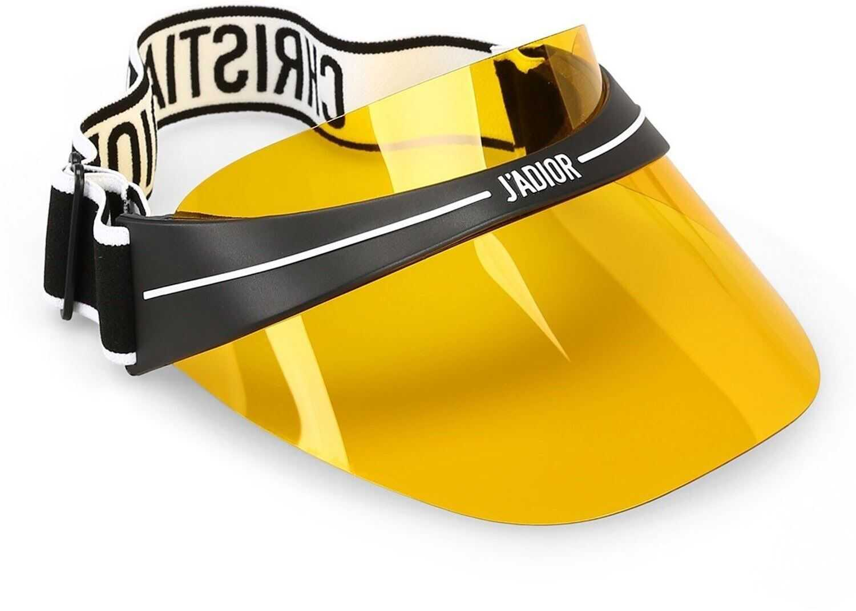 Dior Diorclub1 Yellow Acetate Visor Yellow