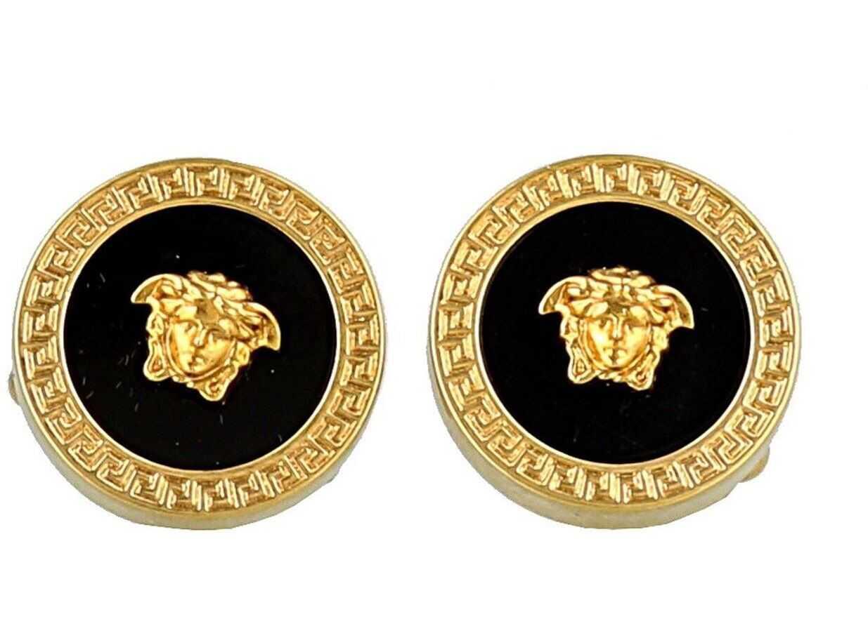 Versace Medusa Head Cufflinks Gold
