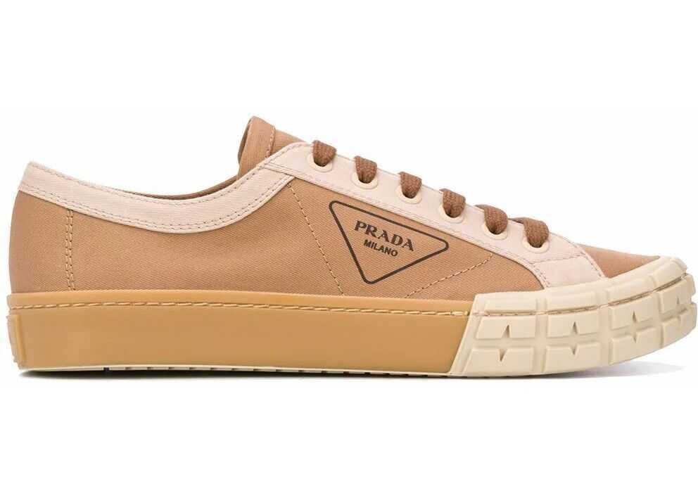 Prada Cotton Sneakers BROWN