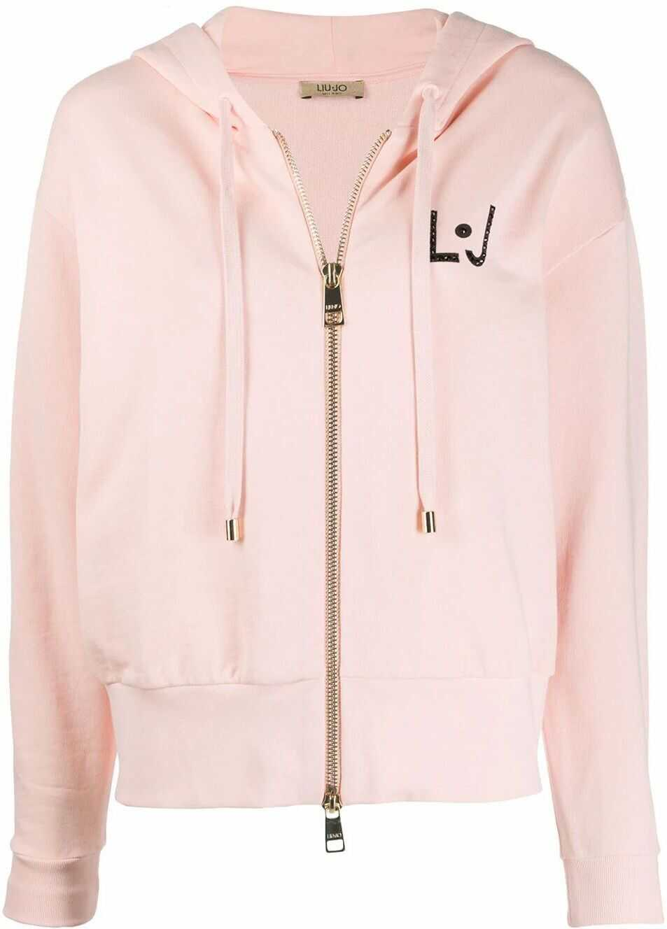 Liu Jo Cotton Sweatshirt PINK