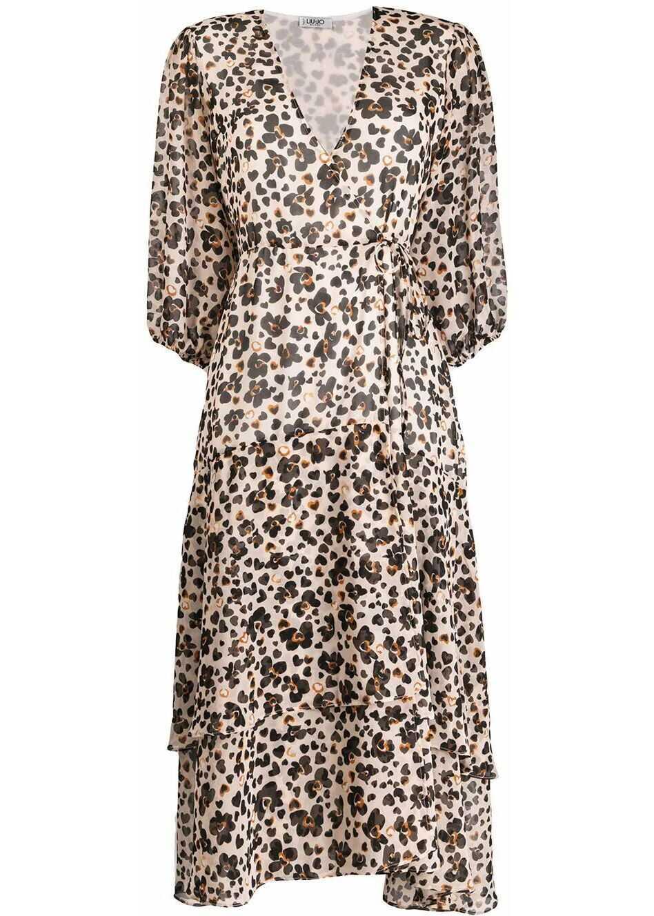 Liu Jo Polyester Dress MULTICOLOR
