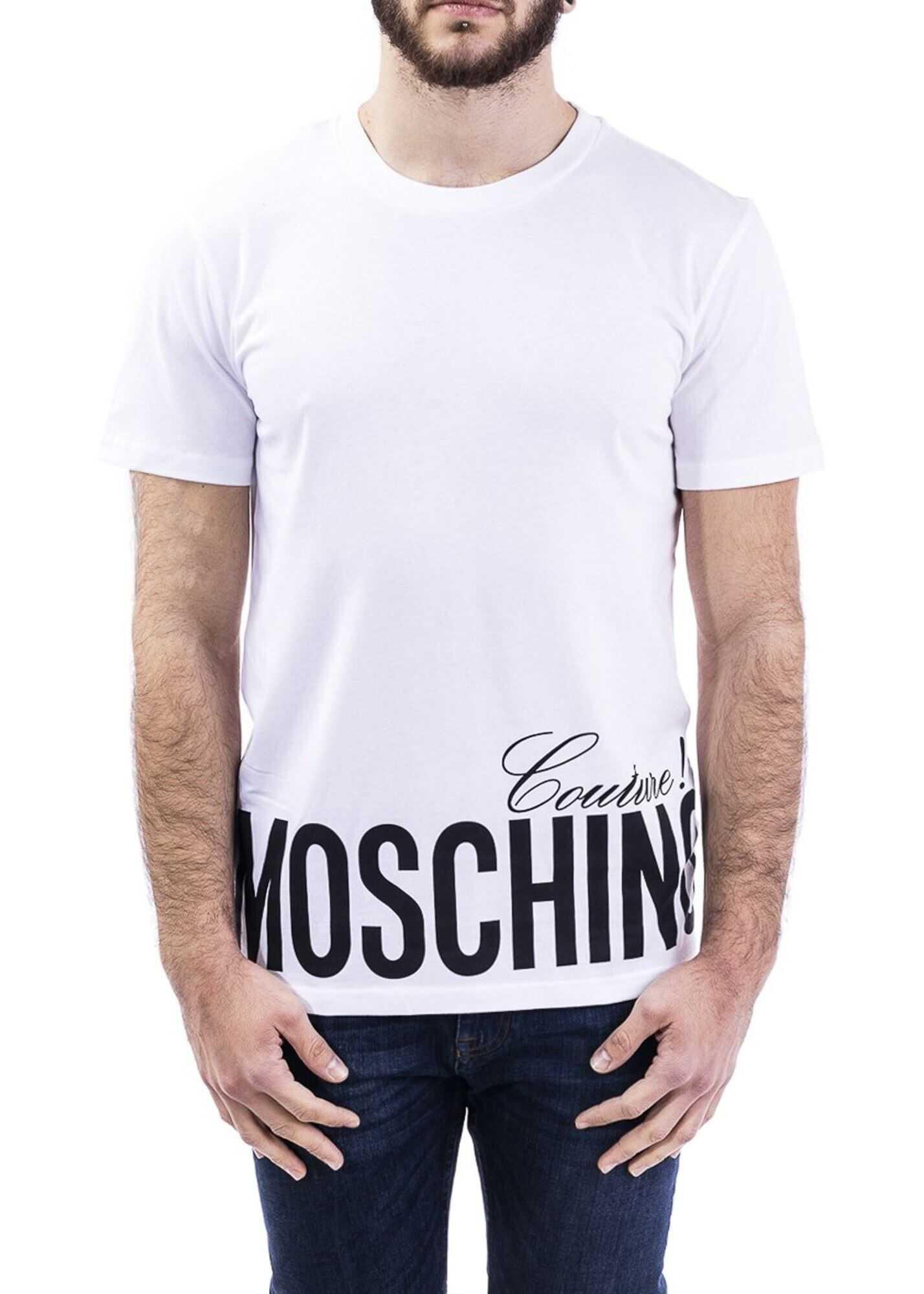 Moschino Moschino Couture Print T-Shirt White
