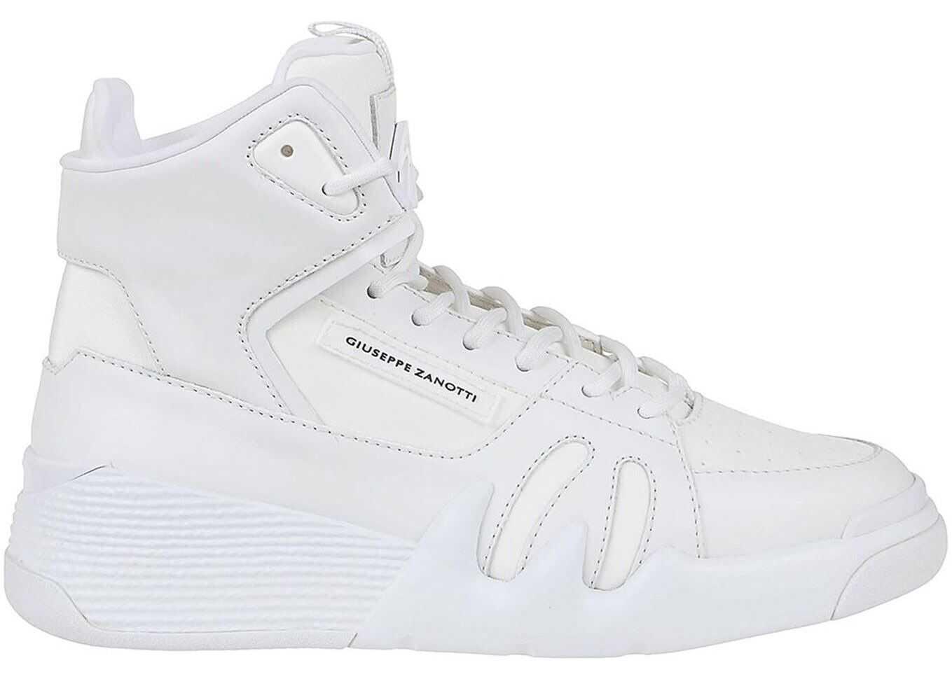Giuseppe Zanotti Talon Sneakers White