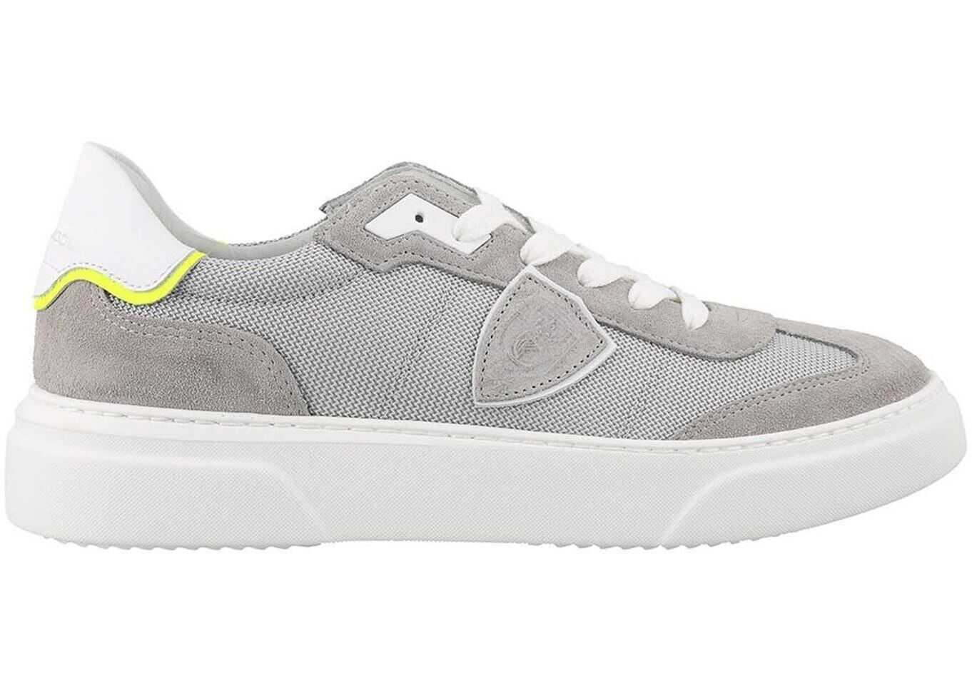 Philippe Model Temple S Sneakers Grey