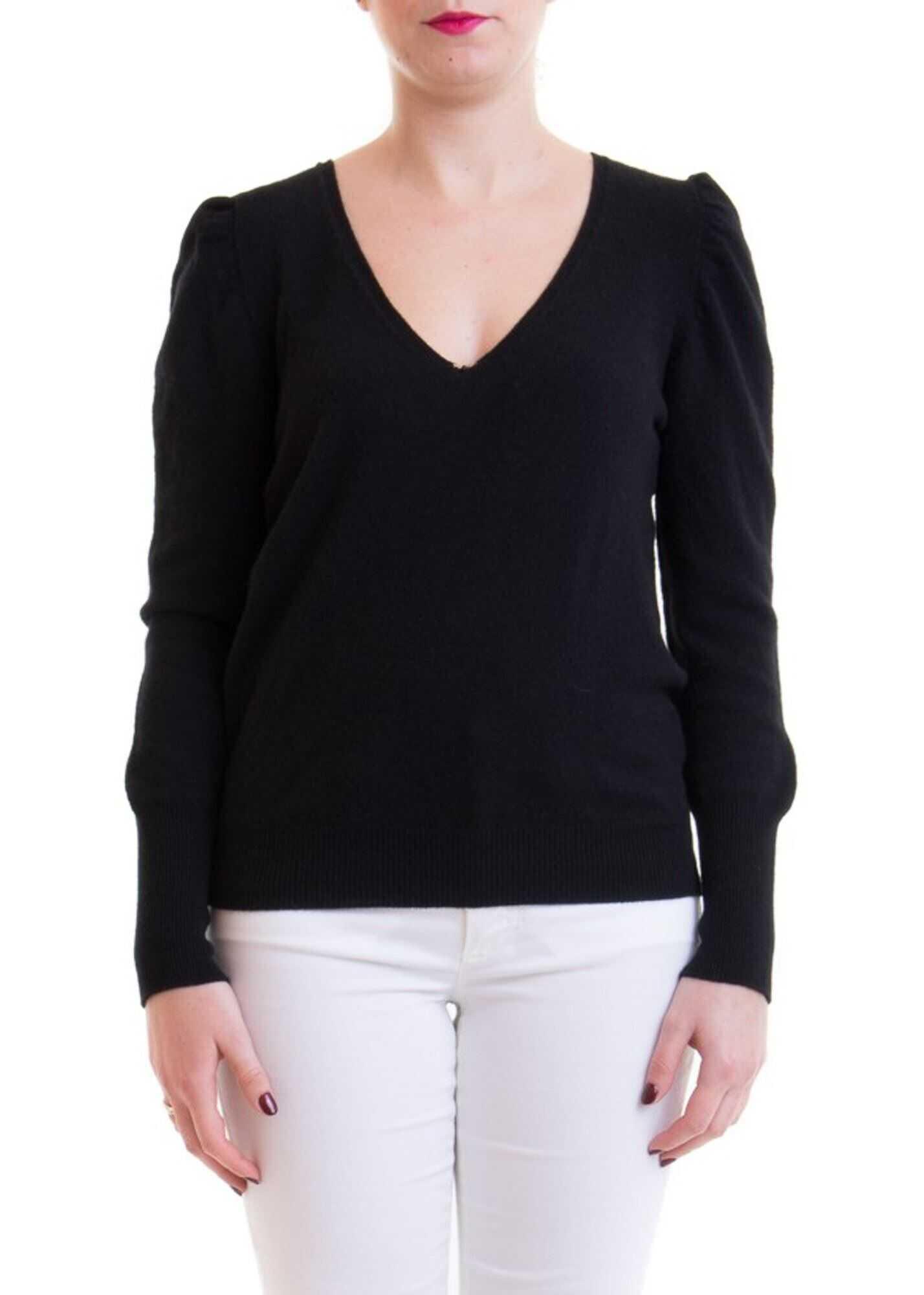 Blumarine Cashmere Blend Sweater Black