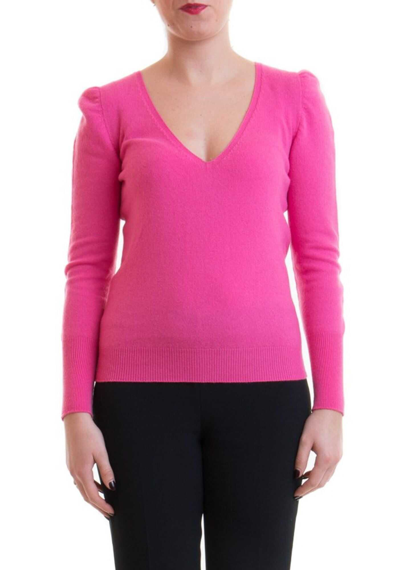 Blumarine Cashmere Blend Sweater Fuchsia