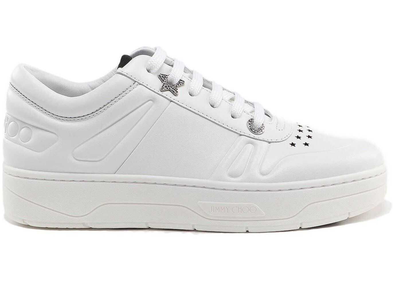 Jimmy Choo Hawaii/F Sneakers White