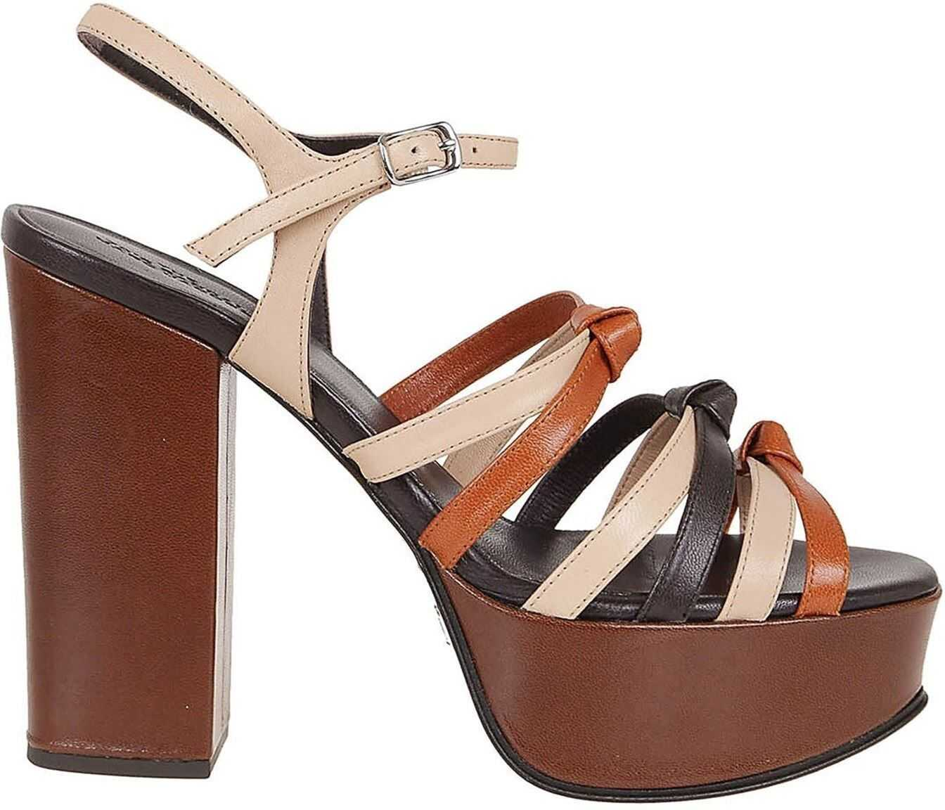 Marc Jacobs The 70S Sandals Brown