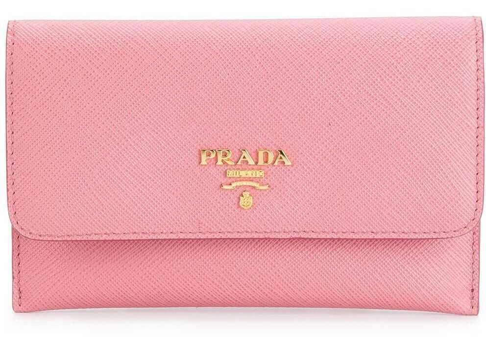 Prada Leather Wallet PINK