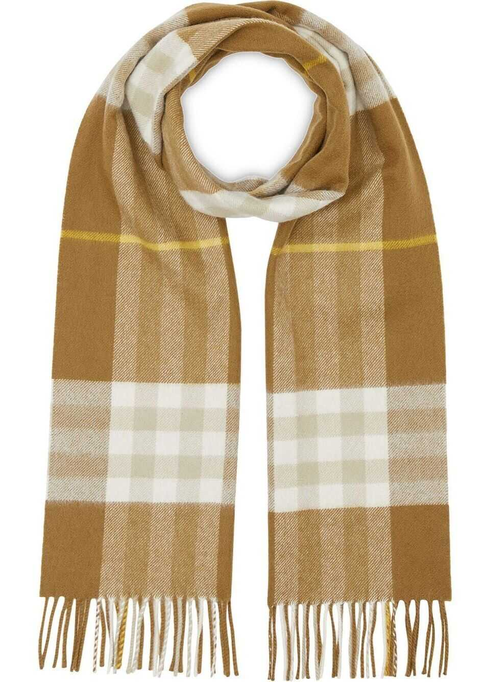Burberry Cashmere Scarf GREEN