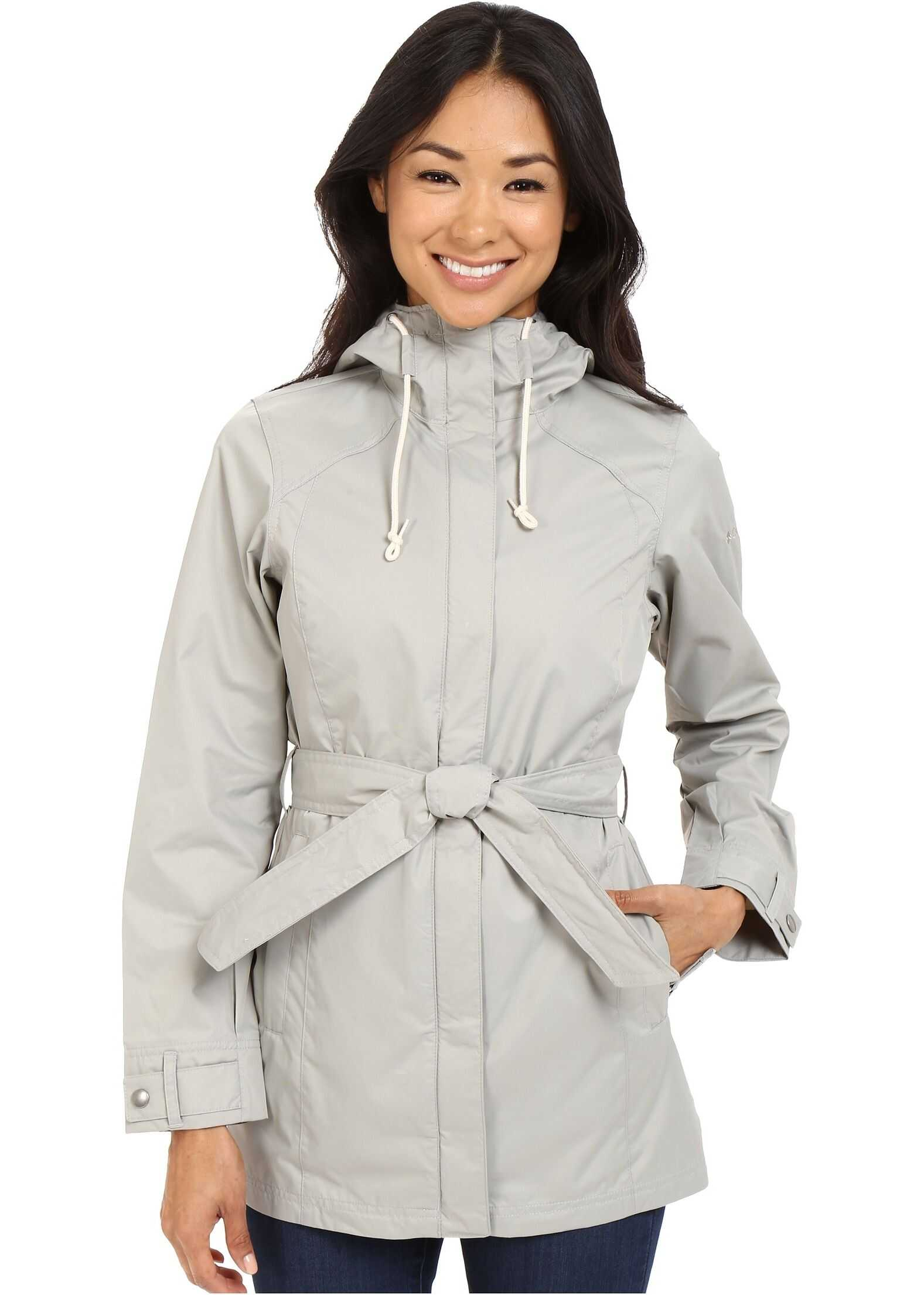 Columbia Pardon My Trench™ Rain Jacket Flint Grey