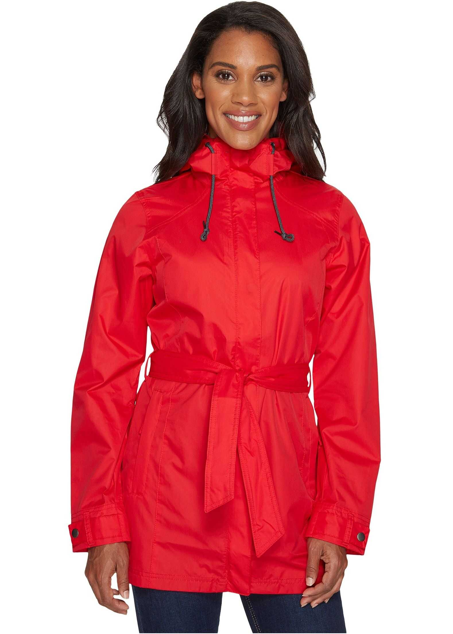 Columbia Pardon My Trench™ Rain Jacket Red Camellia