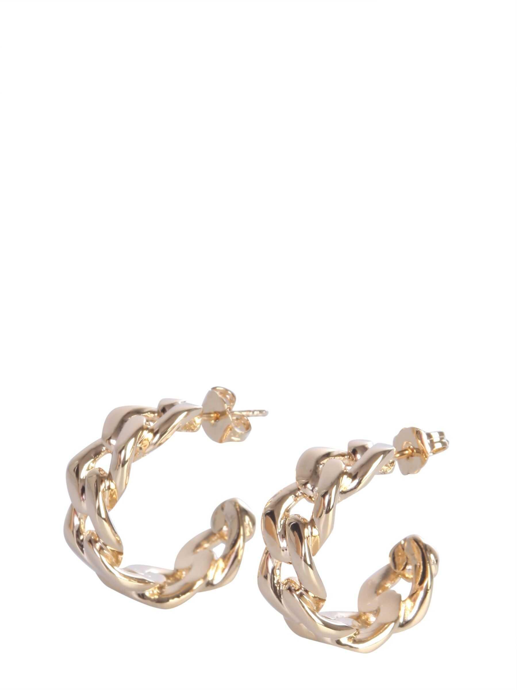 Maison Margiela Brass Earrings GOLD