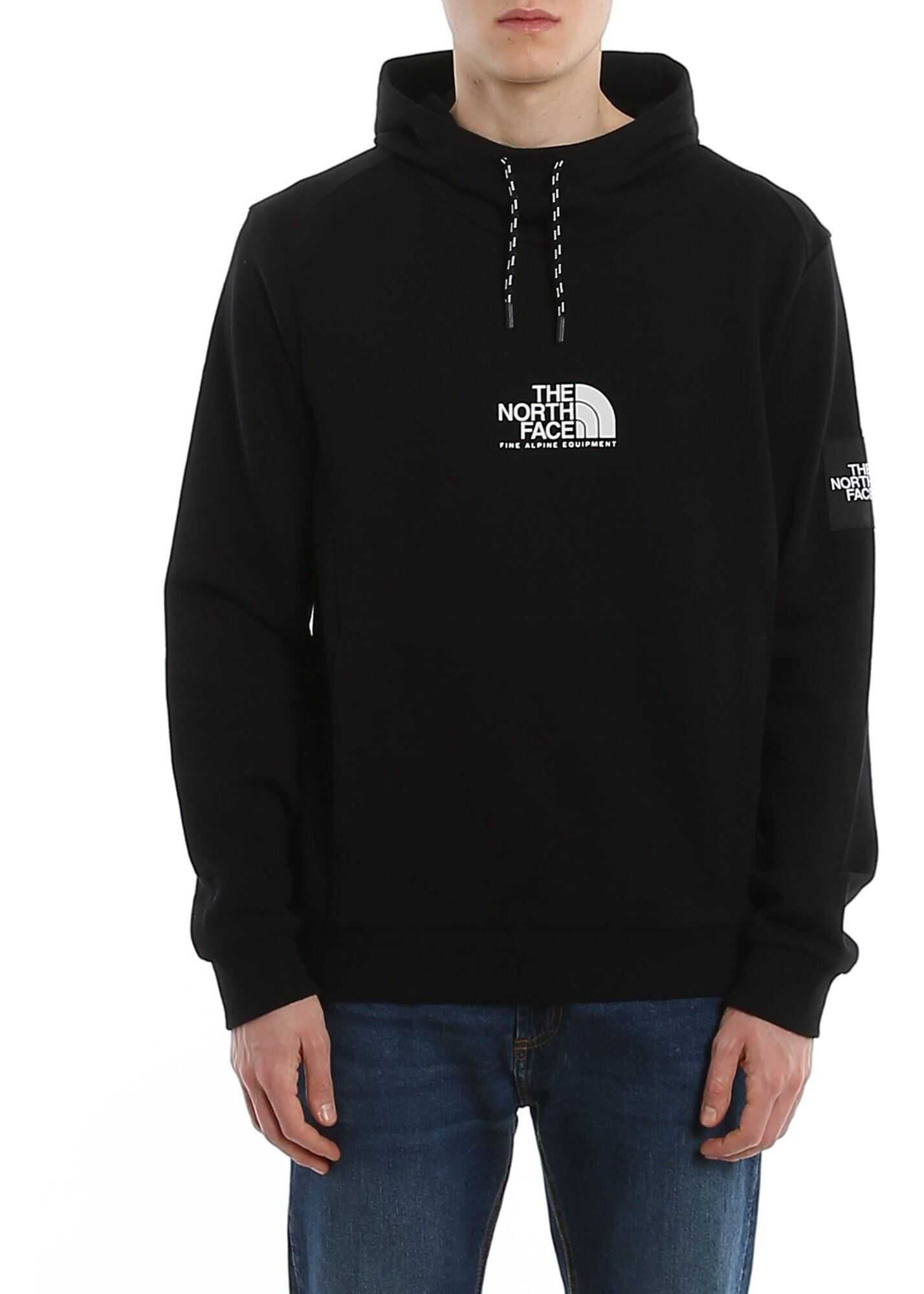 The North Face Fine Alpine Cotton Hoodie Black