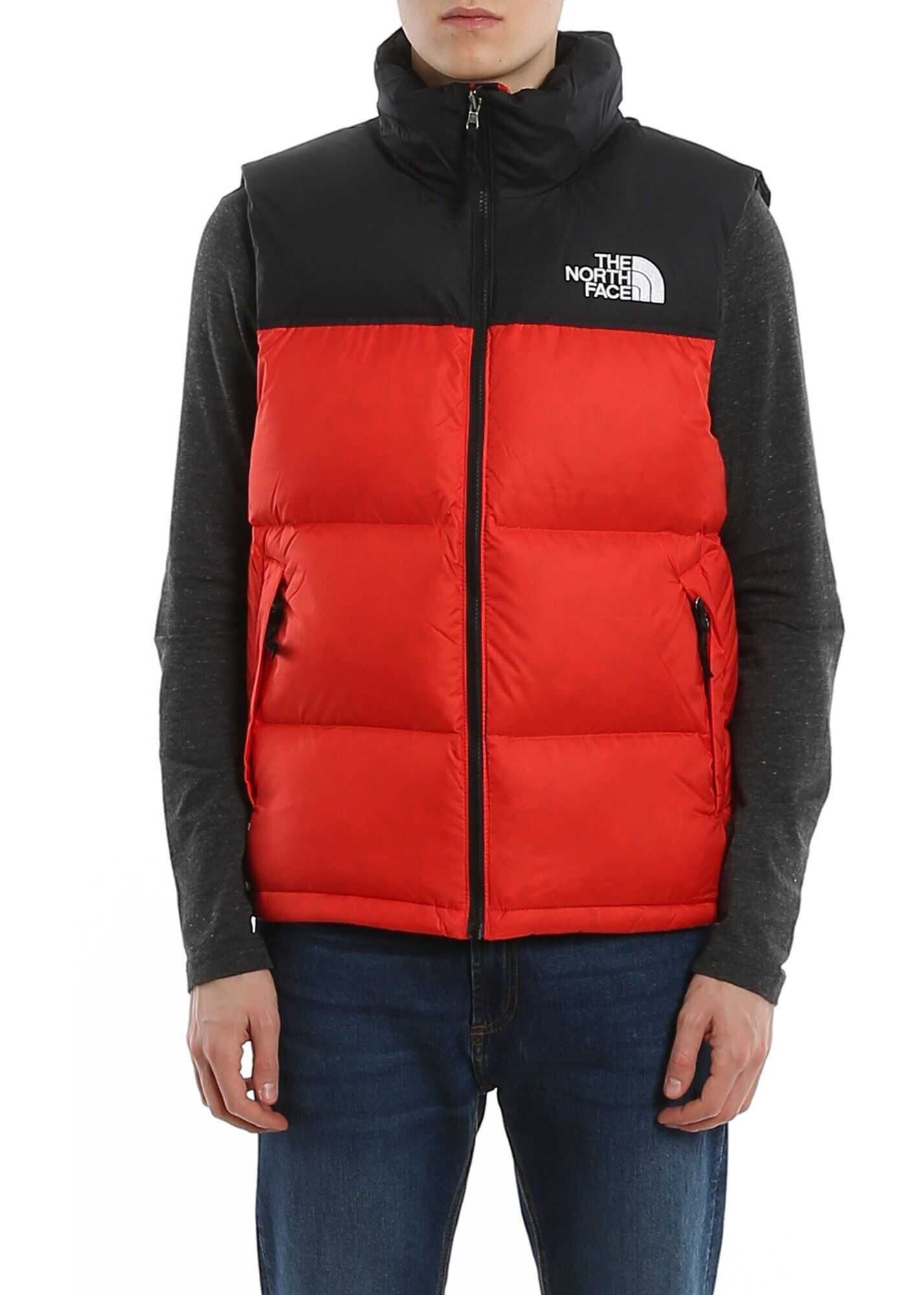 The North Face Two-Tone Padded Vest Red