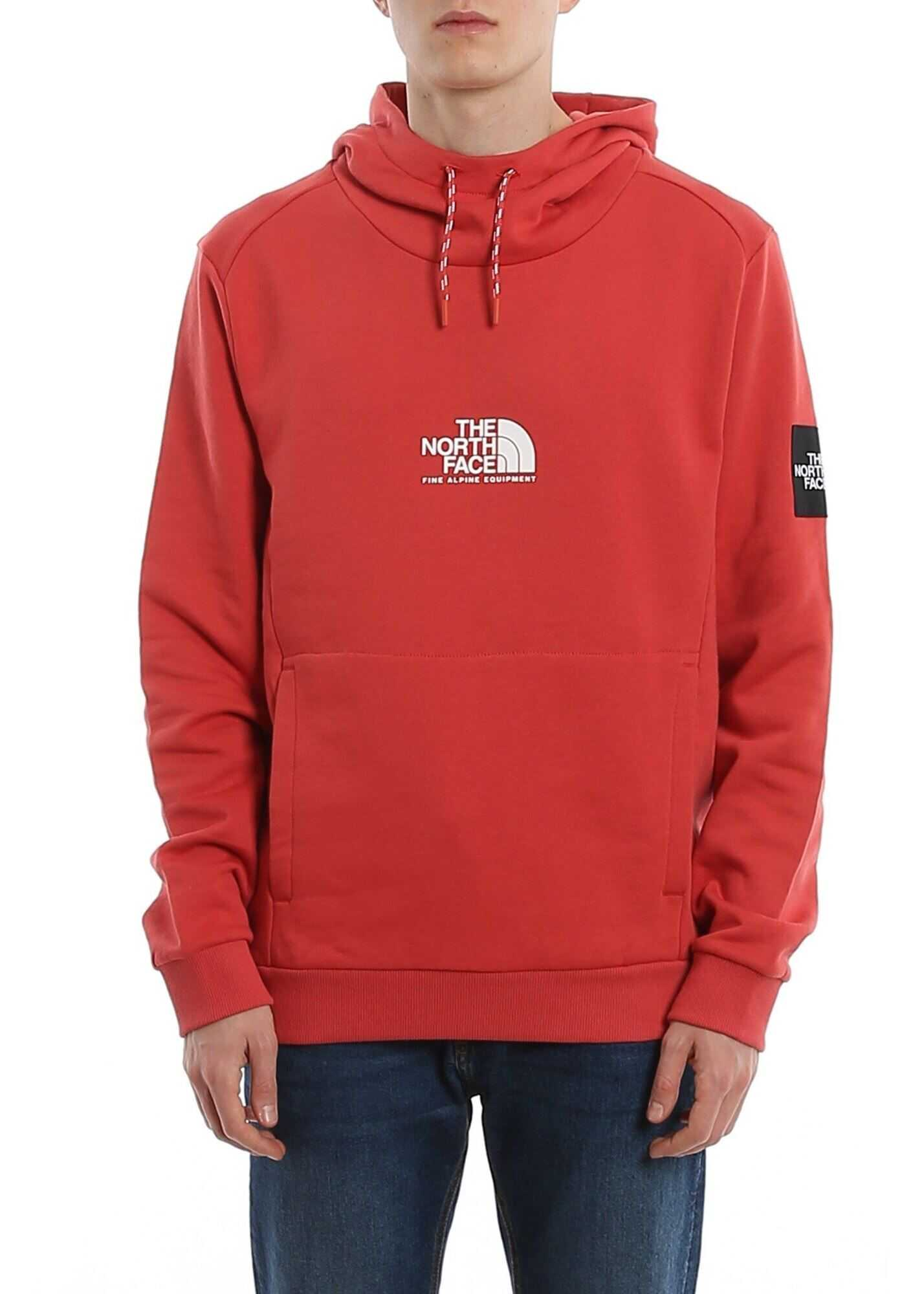 The North Face Fine Alpine Hoodie Red