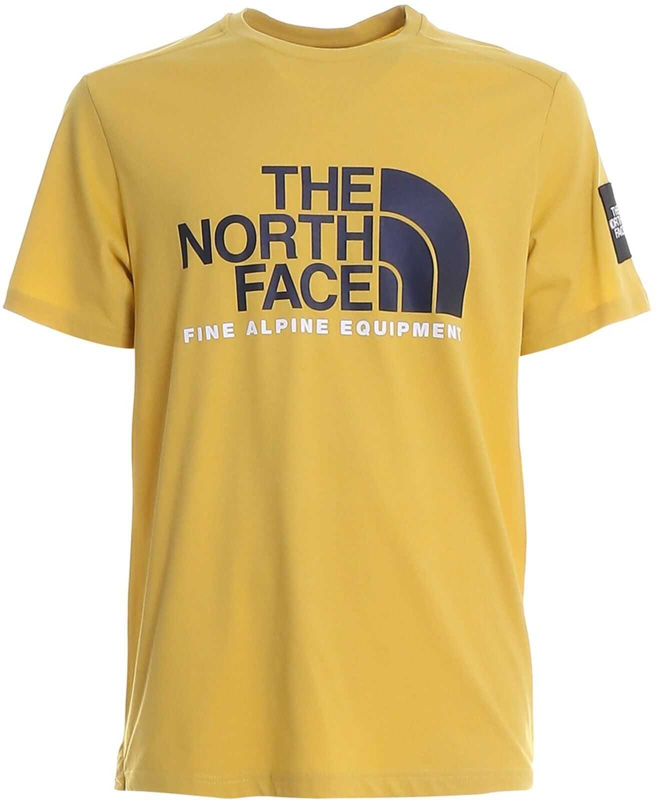 The North Face Fine Alpine Equipment Jersey T-Shirt Yellow