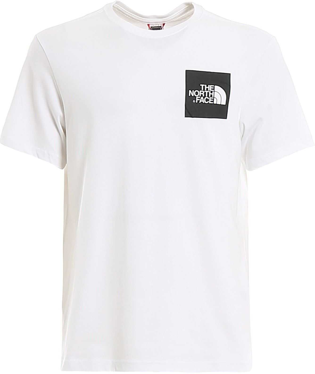 The North Face Logo Print Jersey Tee White