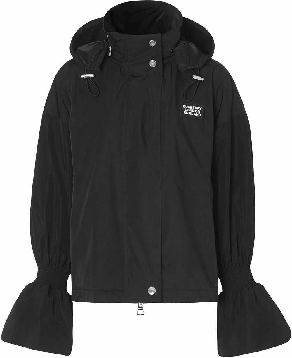 Burberry Polyester Outerwear Jacket BLACK