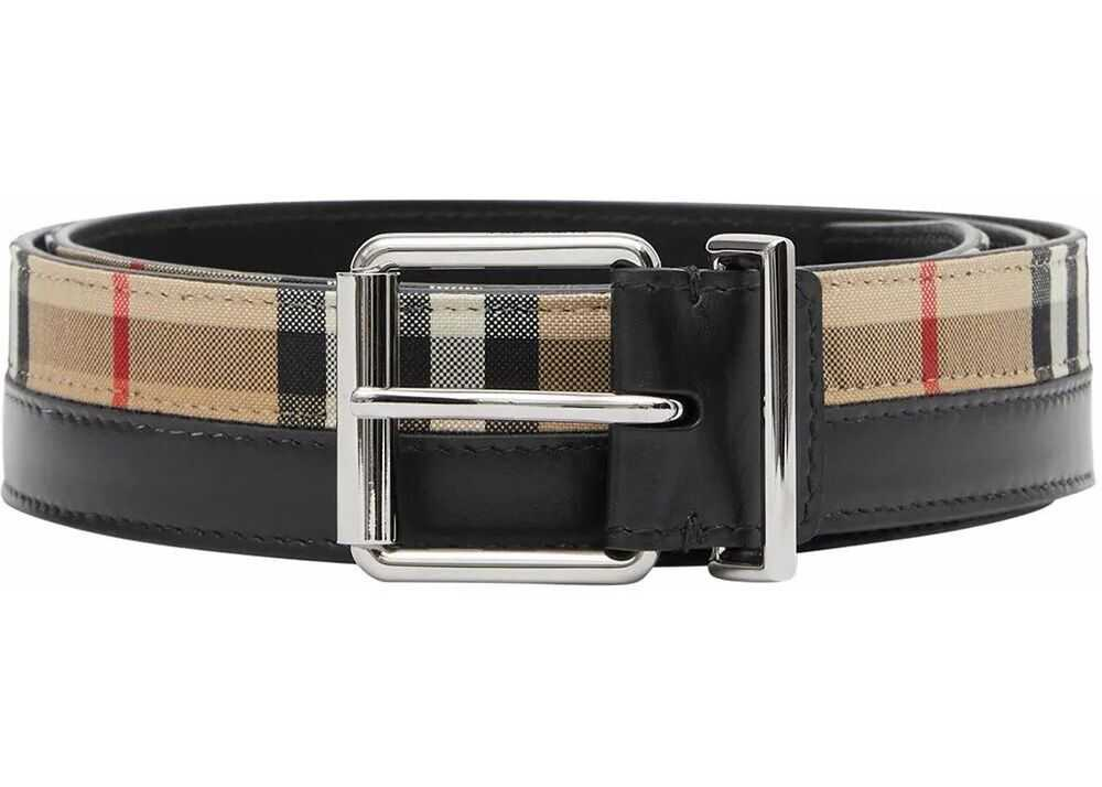 Burberry Leather Belt BEIGE