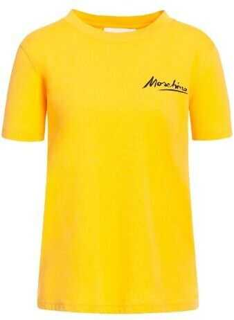 Moschino Cotton T-Shirt YELLOW