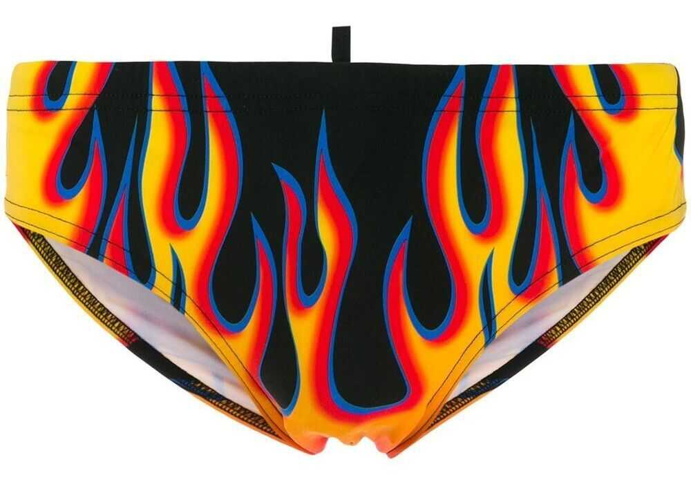 DSQUARED2 Polyamide Trunks MULTICOLOR
