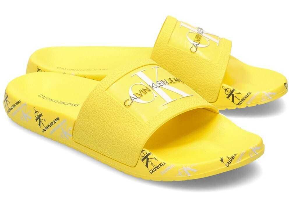 Calvin Klein Jeans B4R0901 Żółty