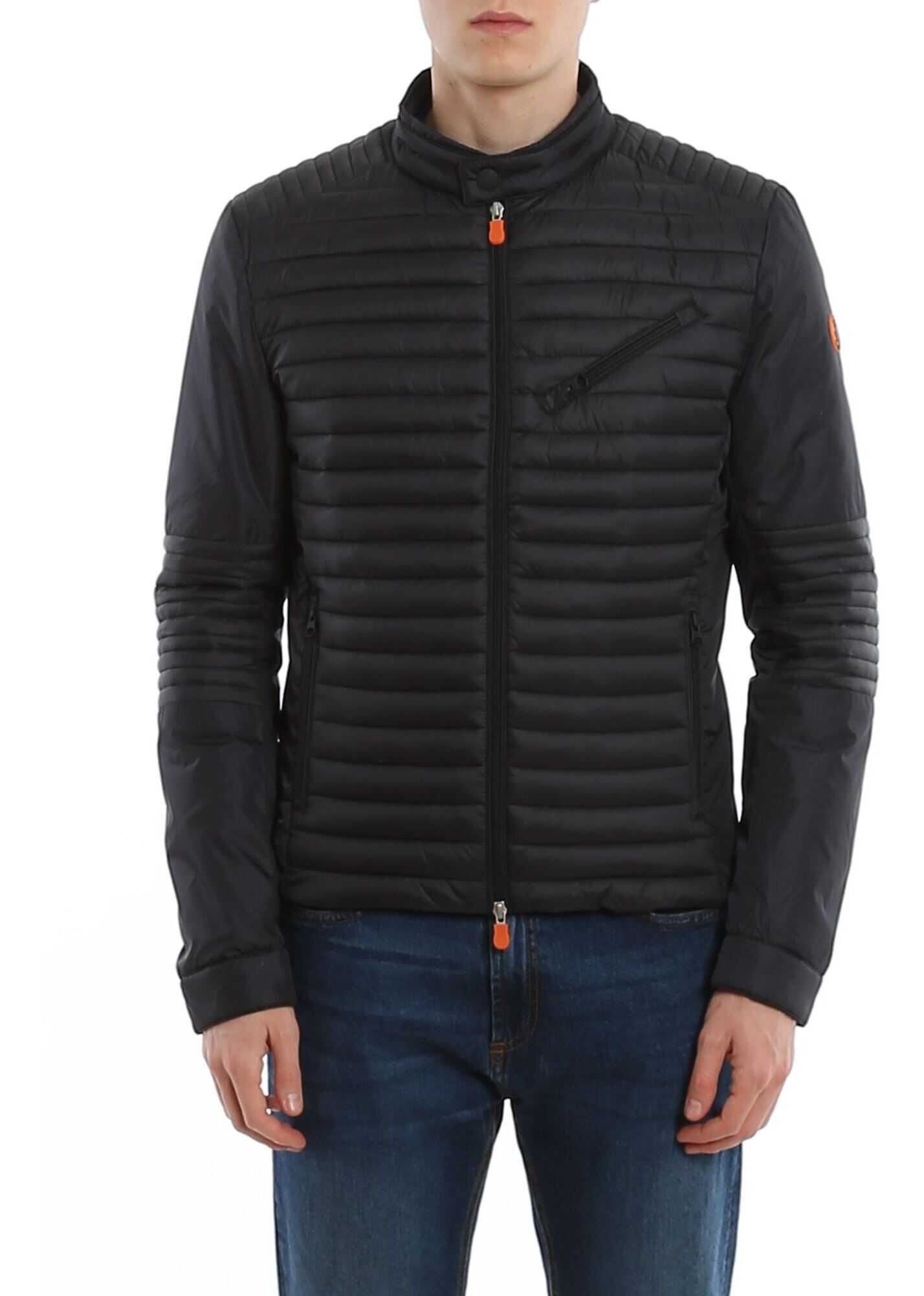 Save the Duck Ultralight Puffer Jacket Black