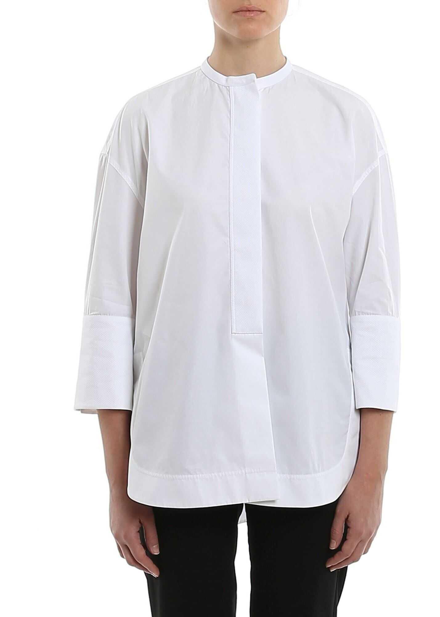 Giorgio Armani Poplin Shirt White