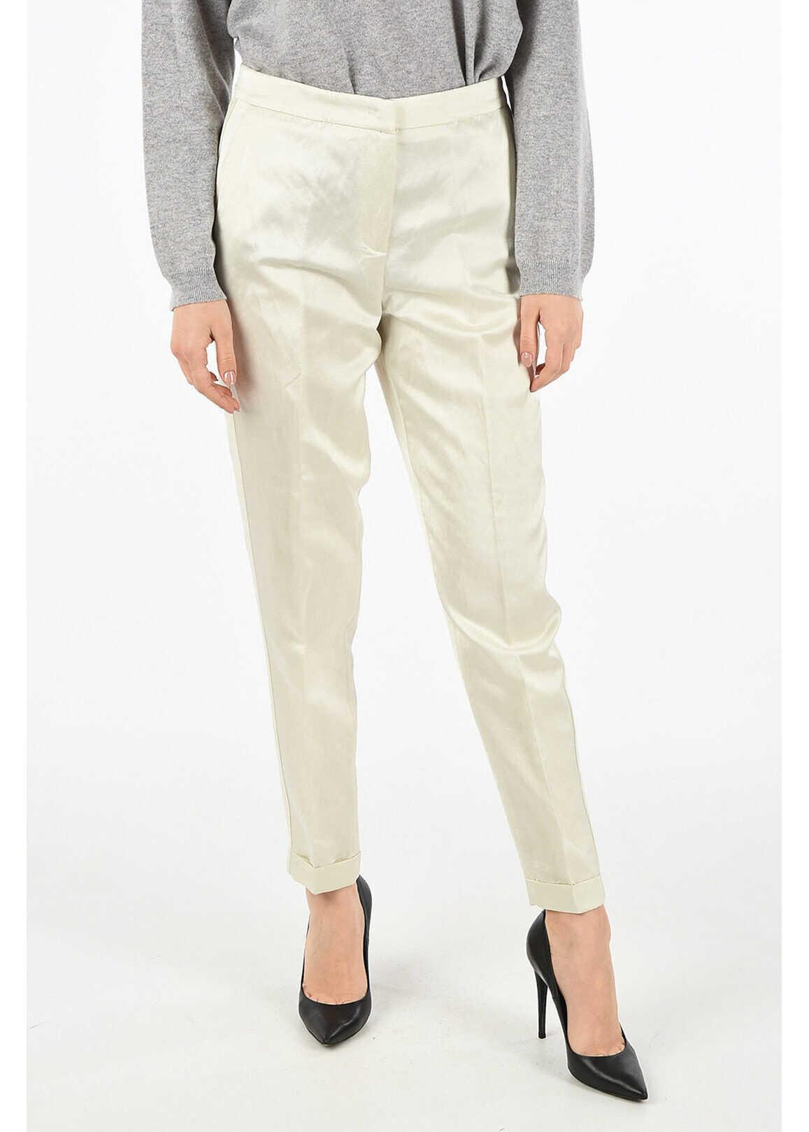 Fabiana Filippi straight leg pants WHITE