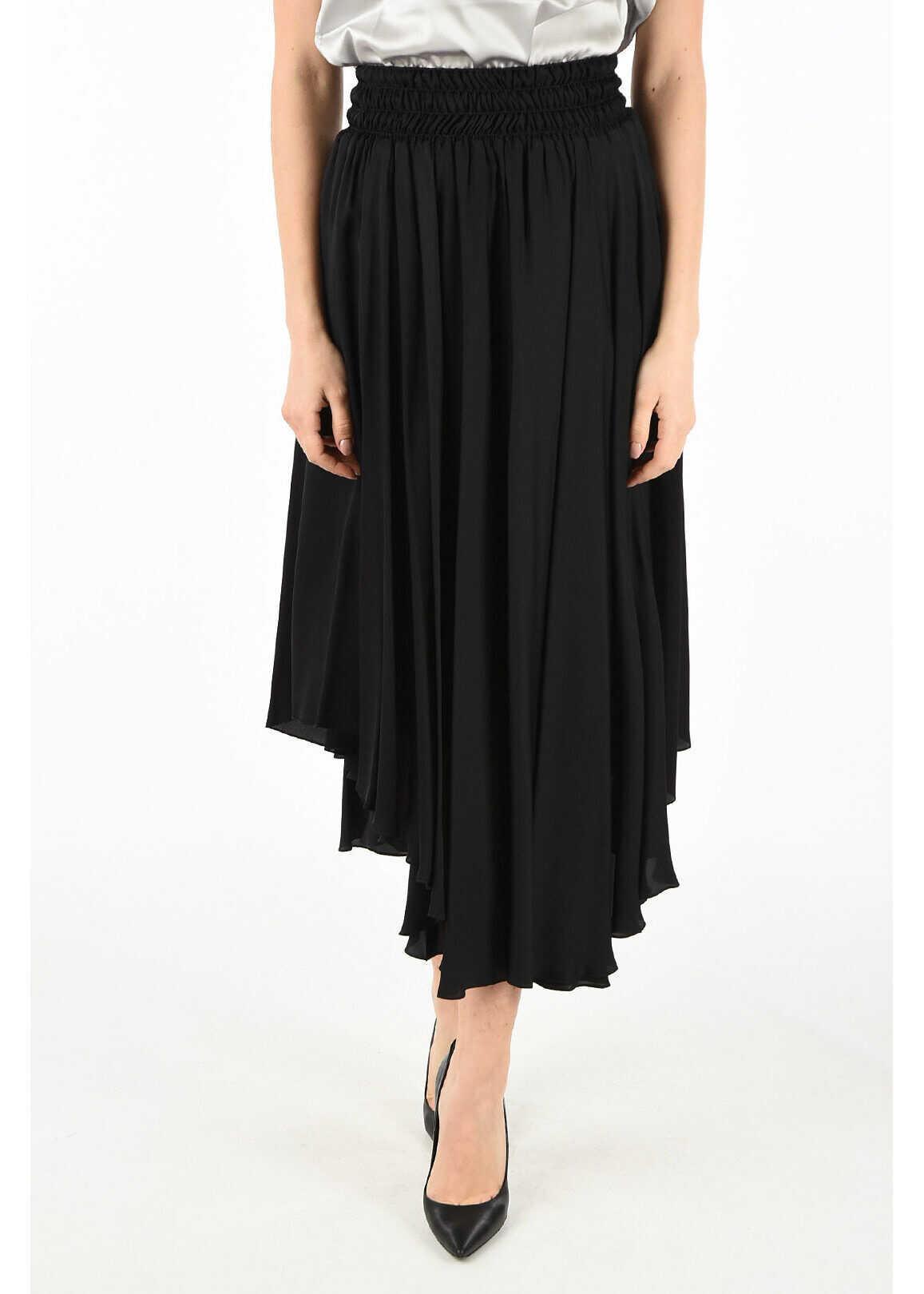 Fabiana Filippi asymmetrical skirt BLACK
