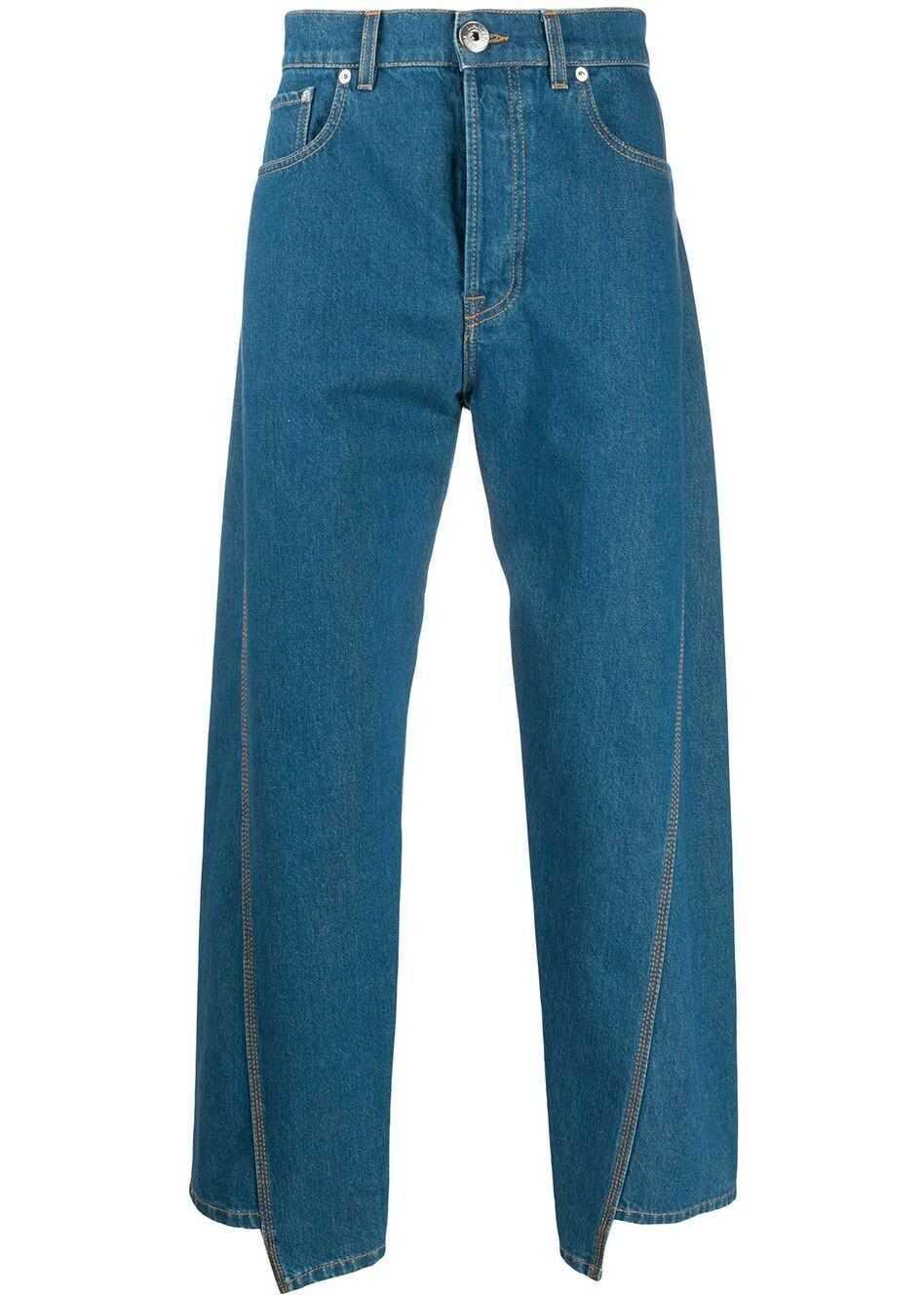 Lanvin Cotton Jeans BLUE