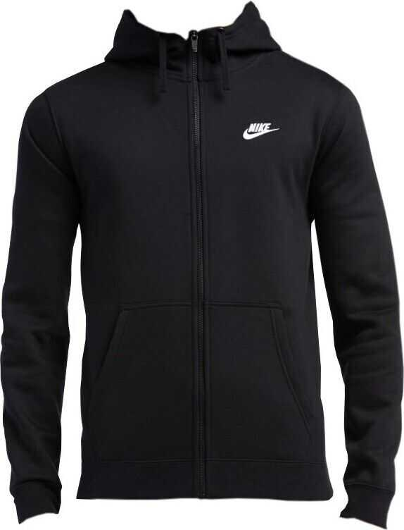Nike M Nsw Hoodie FZ Flc Club* NEGRE
