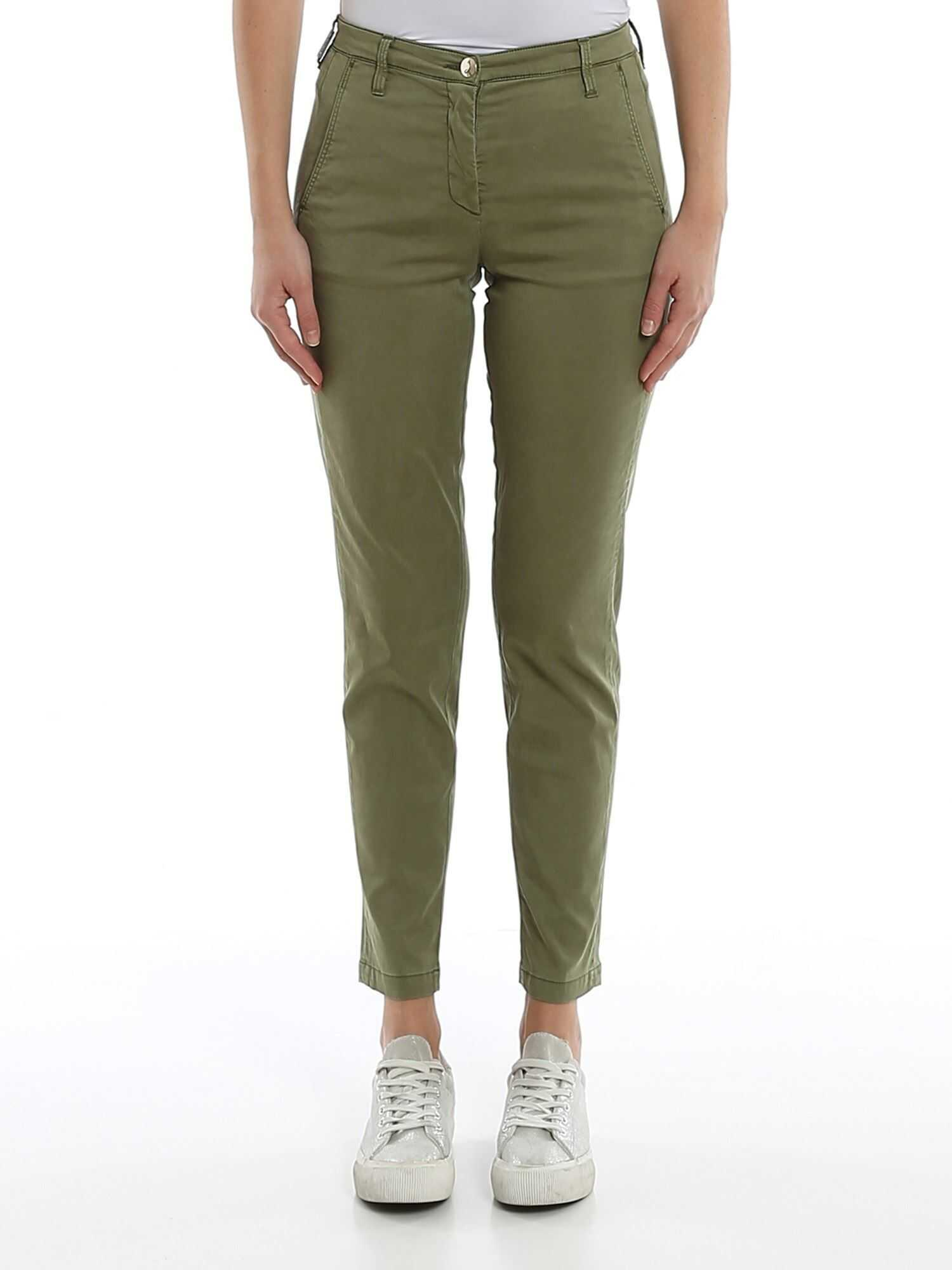 Jacob Cohen Marina Stretch Jeans Green