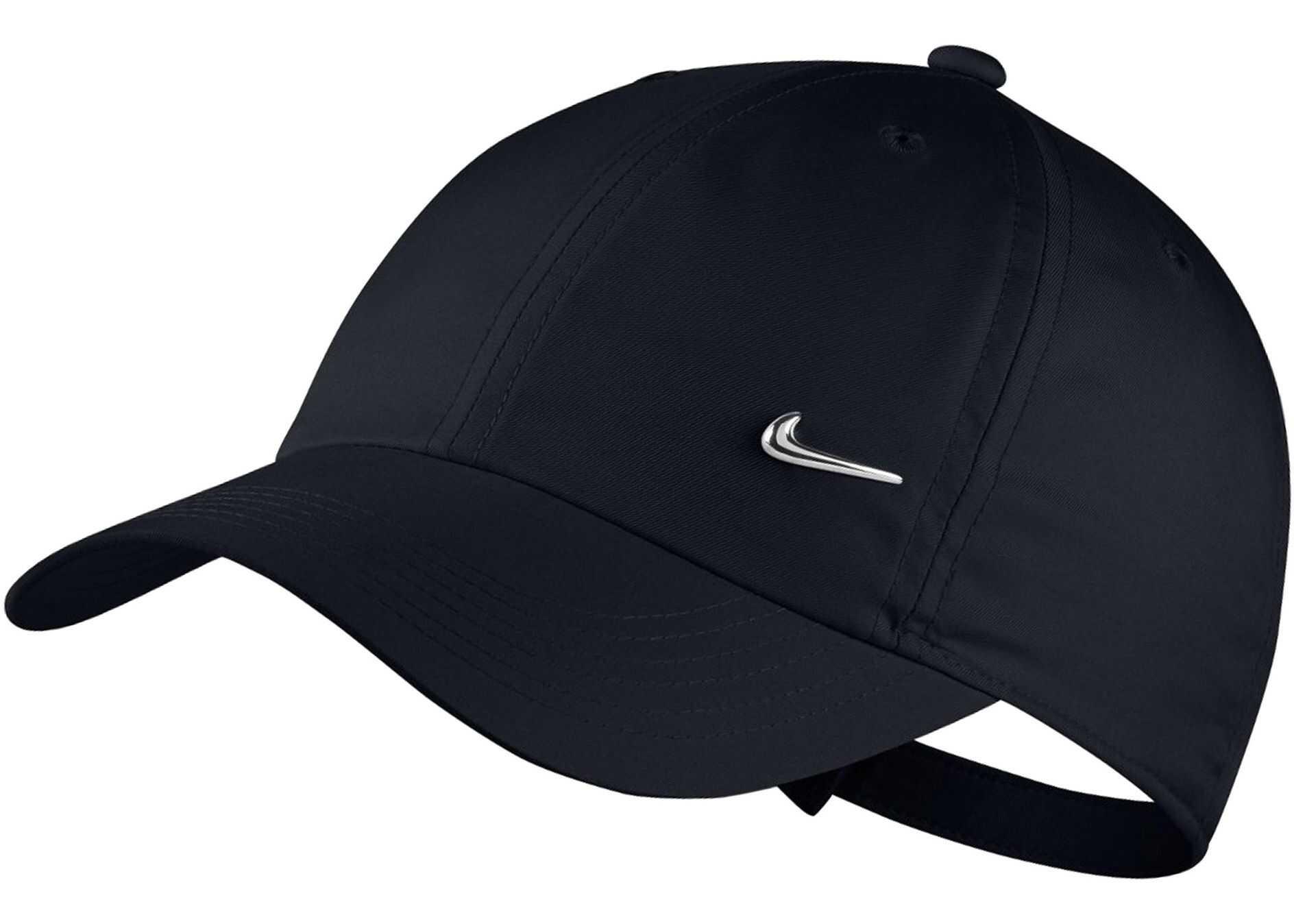 Nike Y NK H86 CAP METAL SWOOSH Black