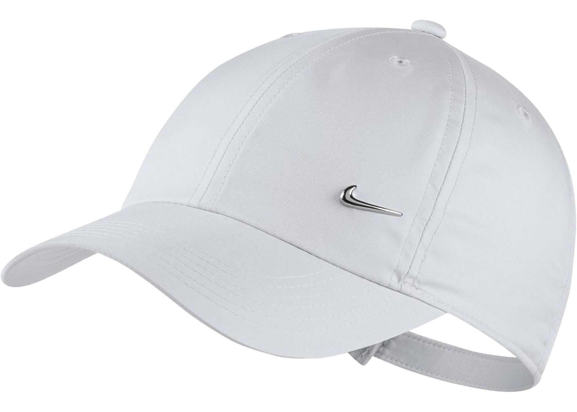 Nike Y NK H86 CAP METAL SWOOSH White