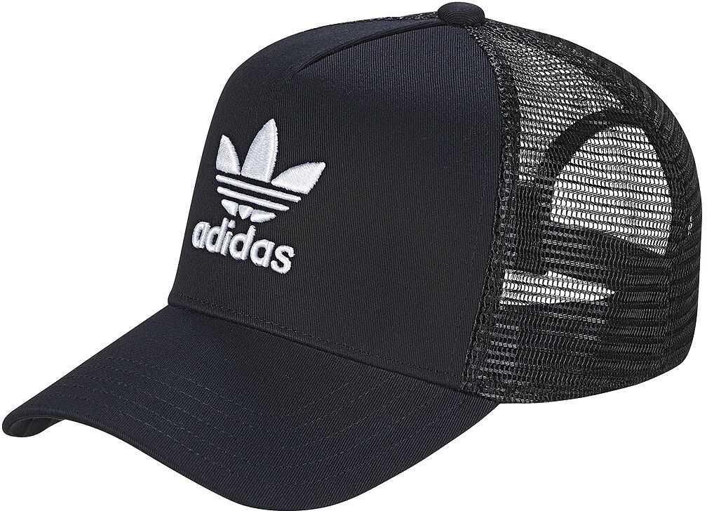 adidas Trucker Trefoil Cap Black