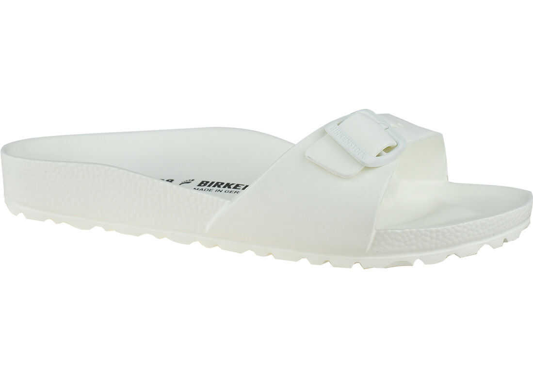 Birkenstock Madrid Essentials Eva White