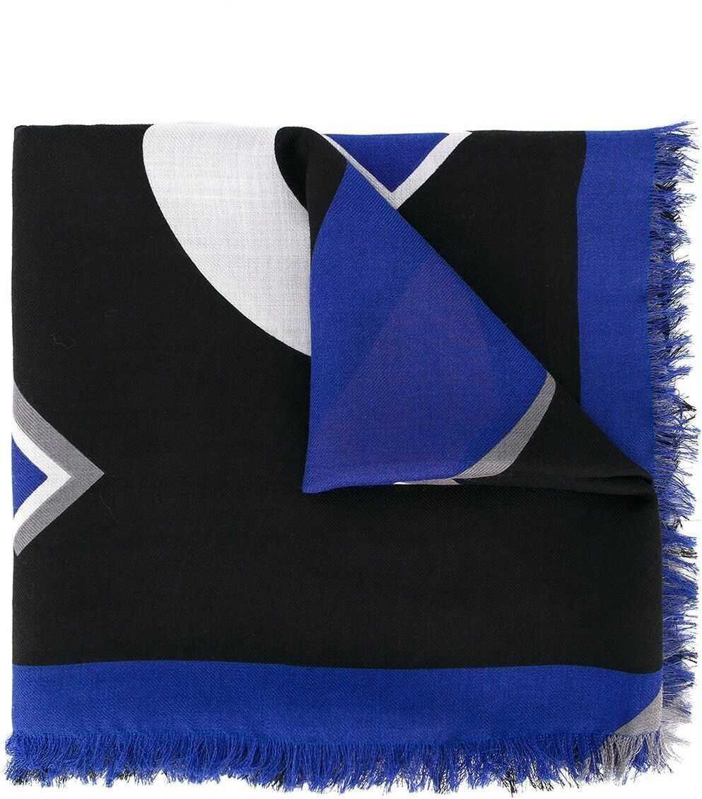 Fendi Silk Foulard BLUE