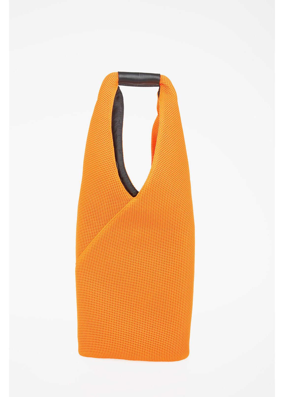 Maison Margiela MM6 Fabric Shopping Bag ORANGE