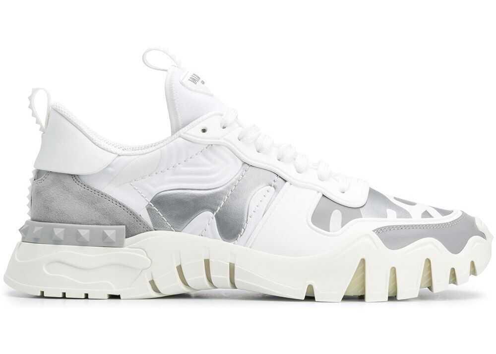 Valentino Garavani Polyester Sneakers WHITE