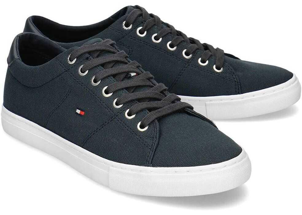 Tommy Hilfiger Seasonal Textile Sneaker Granatowy