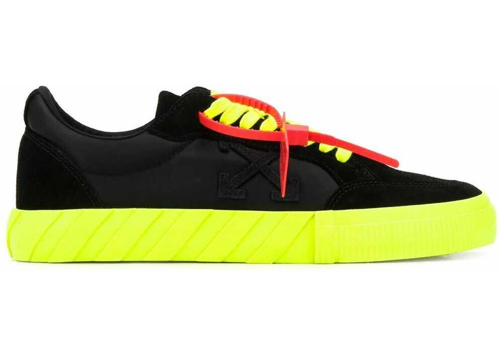 Off-White Leather Sneakers BLACK